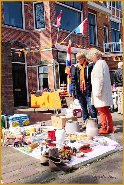 Flea Market King's Day-veritasvisit