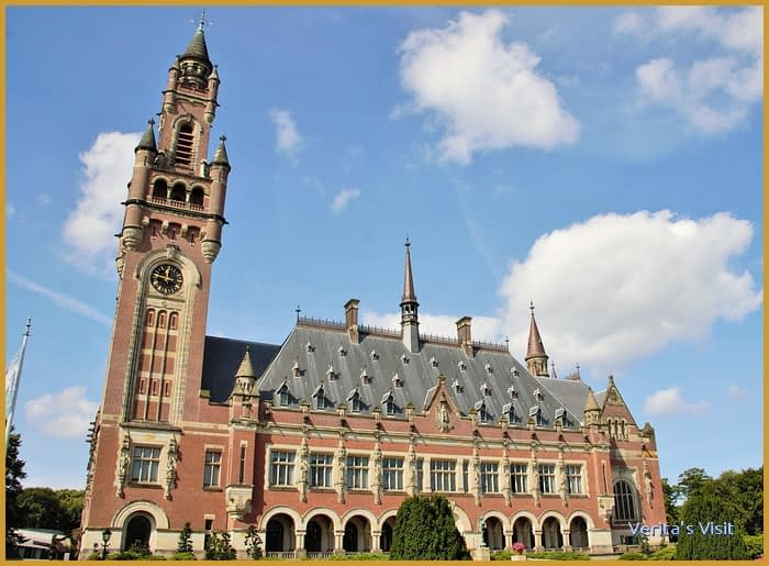 Peace Palace The Hague front side Peace Challenge Verita's Visit