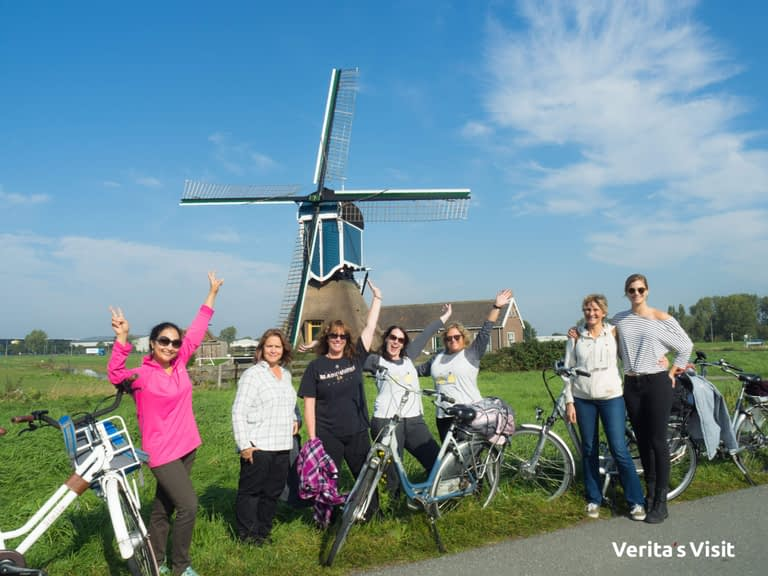 Bike tour Leiden cheese & local food fiets Verita's Visit
