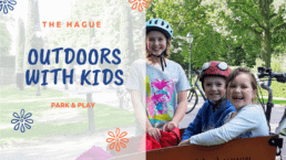 travel tips school holiday The Hague outdoors with kids Verita's Visit bike tours
