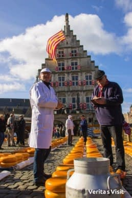 Gouda cheese market group tour groepsreis Verita's Visit
