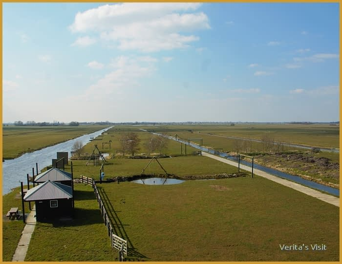 polders surrounding woerden Dutch nature