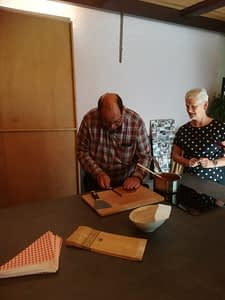 stroopwafel baking workshop picture by participant food & crafts family day trip Verita's Visit