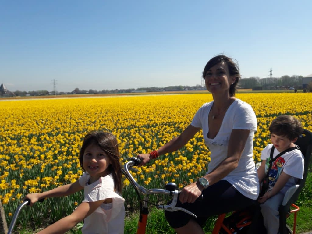Cycling Holland with kids Verita's Visit