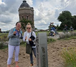 Dutch water management drinking tour Hague