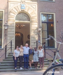 corporate event uitje pre-meeting activity LeidenVerita's Visit castle