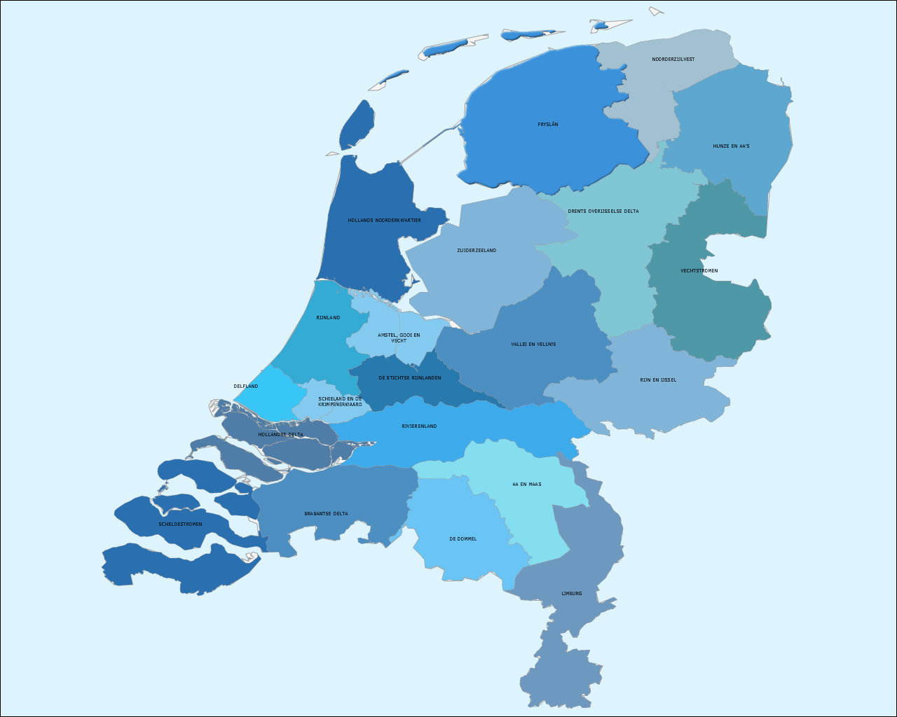 Dutch water authorities